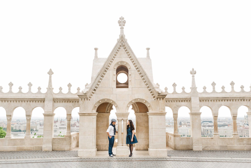 malaysian couple in budapest engagement