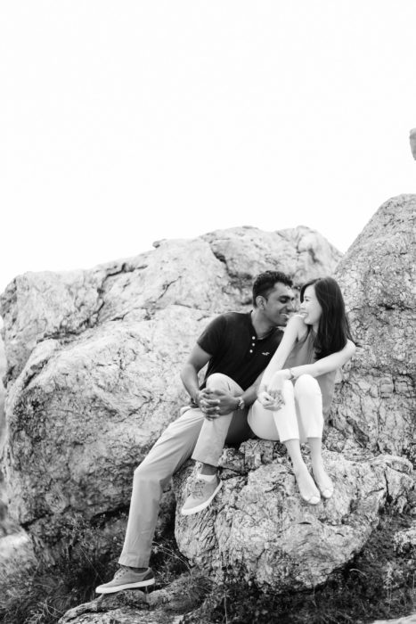 mountaintop couples shoot near budapest