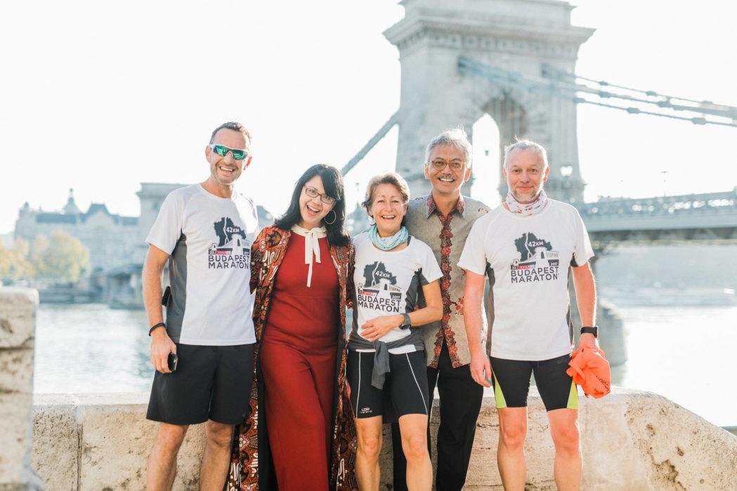 budapest marathon runners in budapest