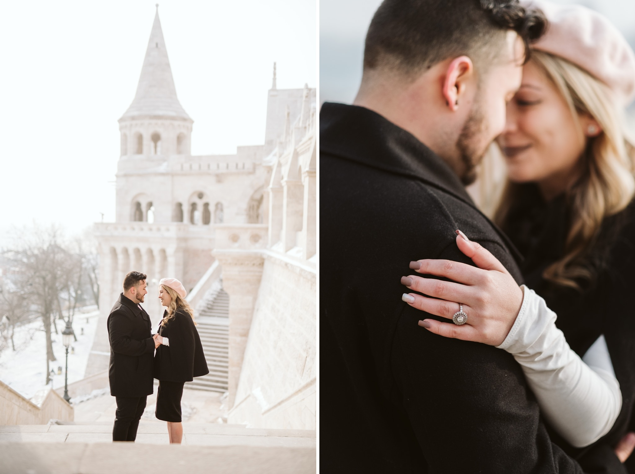 26 early morning engagement photos in budapest