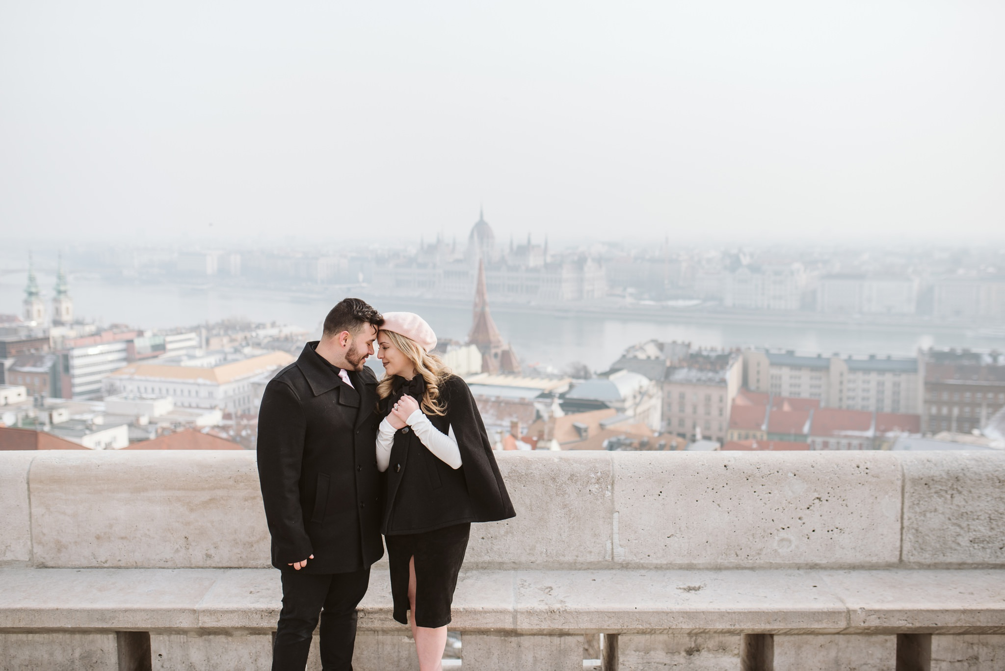 30 budapest fishermans bastion couple shoot